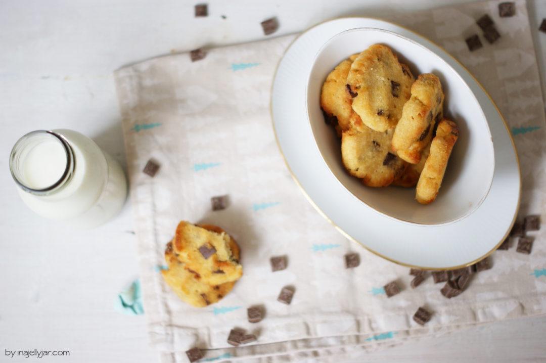 Gesunde Schokocookies