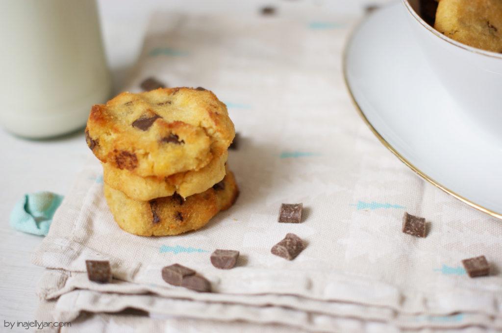 Glutenfreie Schokocookies