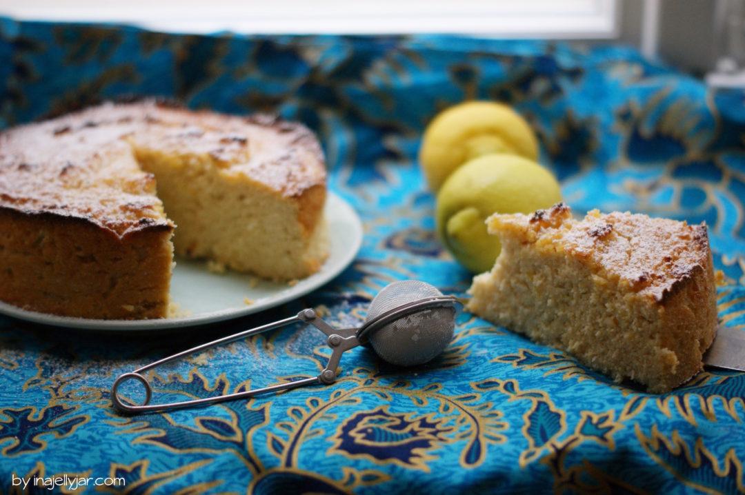 Limettenkuchen mit Kokosmehl und Kefir