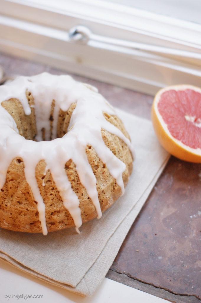 Grapefruit Gugelhupf mit Kardamom