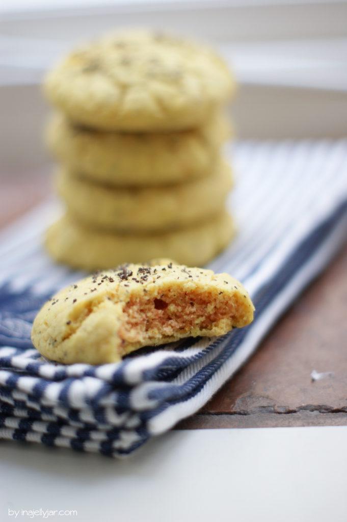 Zitronencookies mit Mohn