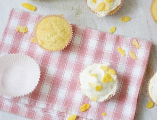 Cornflakesmilch-Cupcakes ganz einfach nachzubacken