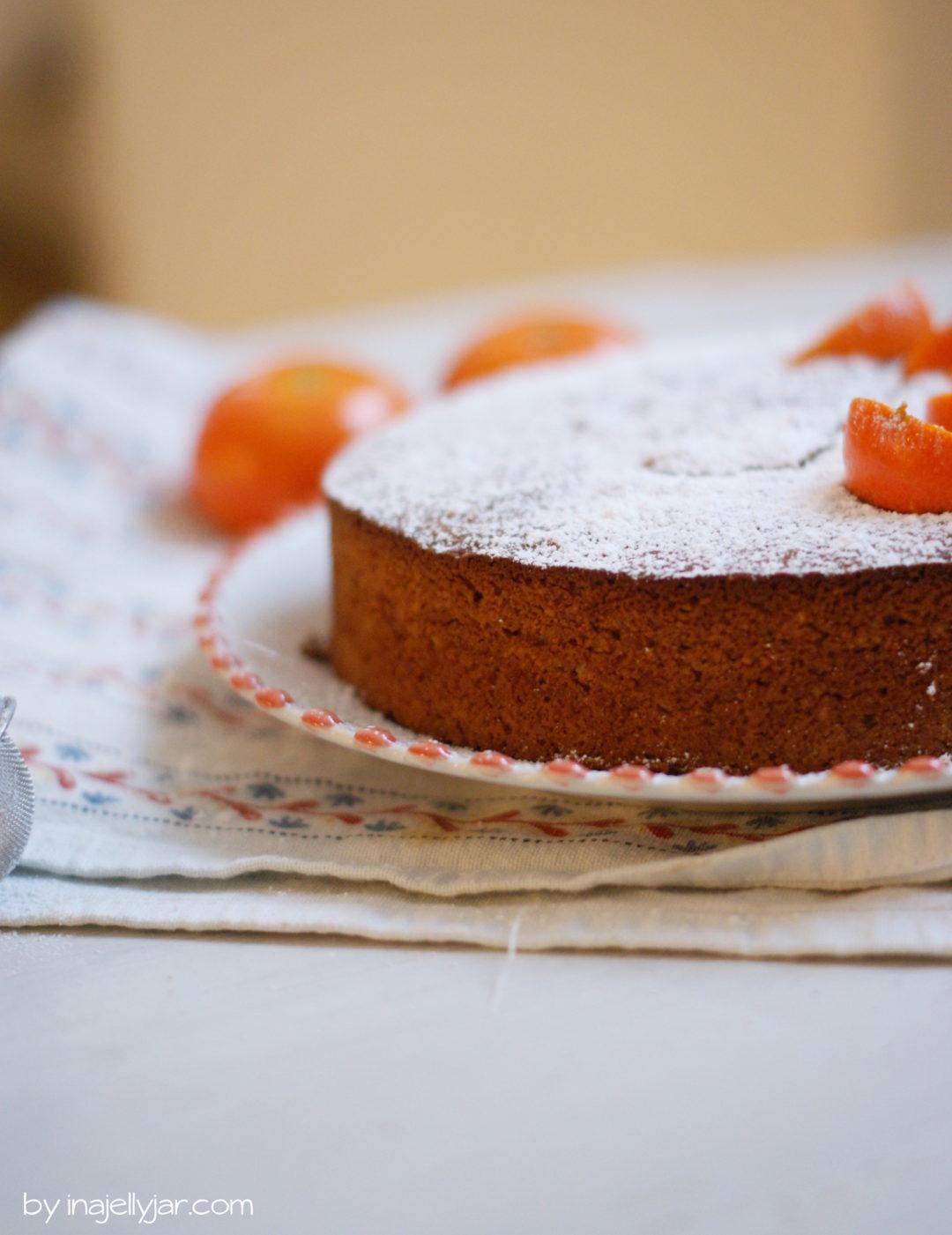 Mandarinenkuchen mit ganzen Früchten
