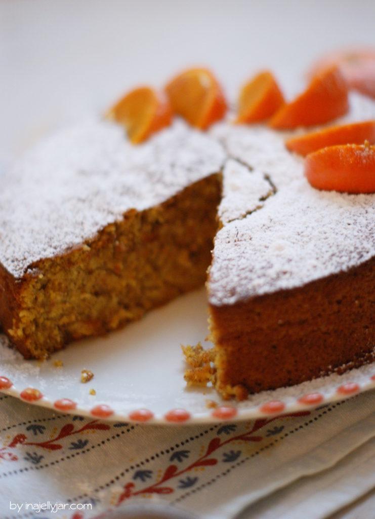 Schnell und glutenfrei: Mandarinenkuchen