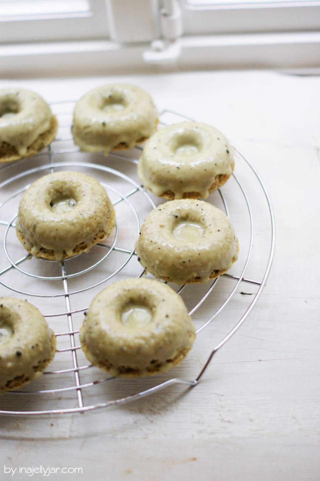 Matcha Latte Donuts in weniger als 30 Minuten