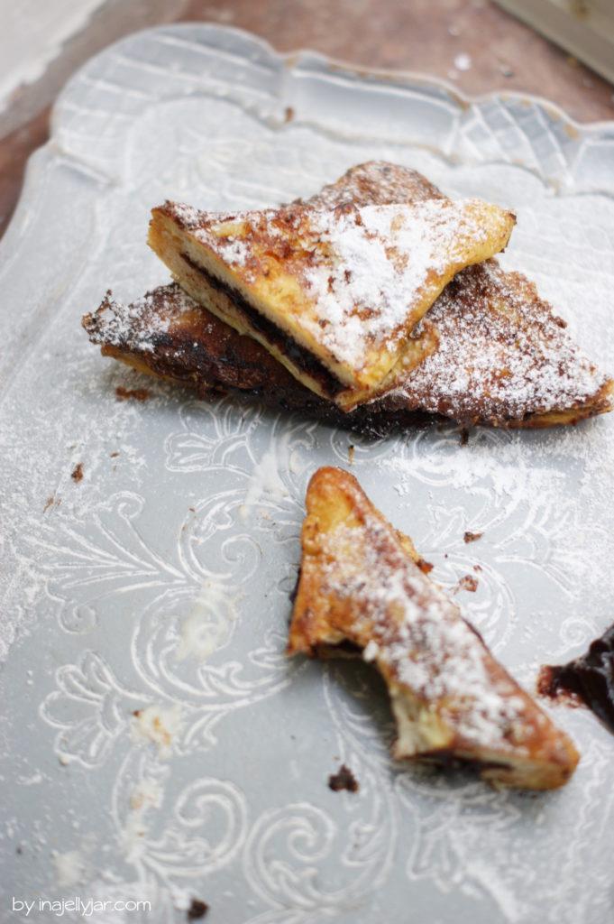 Pofesen aus Toastbrot