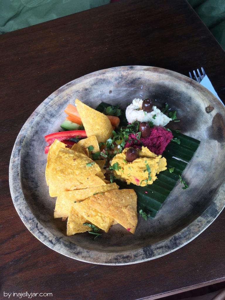 Tacos im Garden Kafe, Ubud Bali