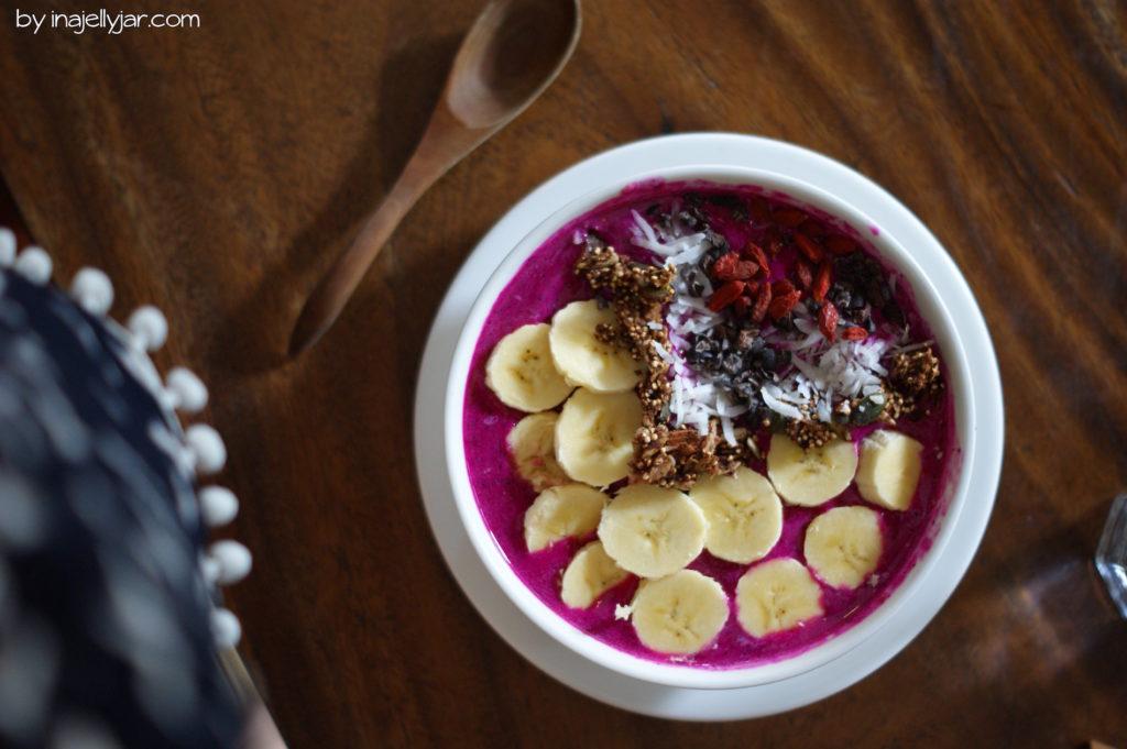 Naga Bowl im Seeds of Life Café Ubud, Bali