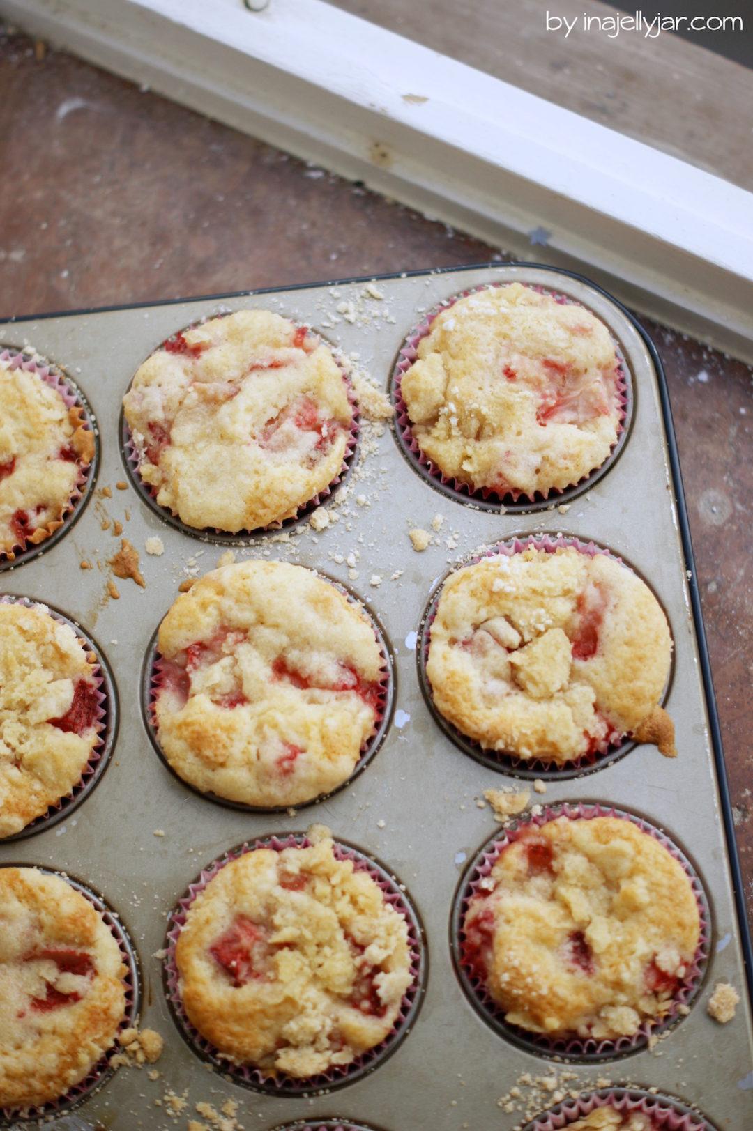 Erdbeermuffins super schnellgebacken