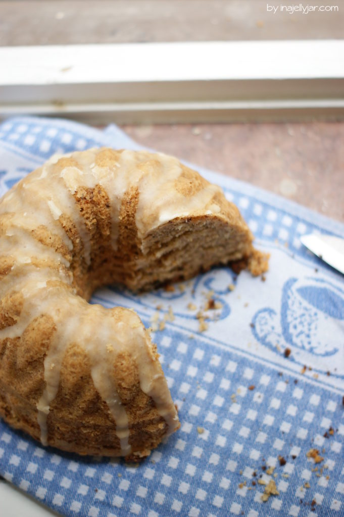 Einfach und schnell gebacken: Orangen-Nusskuchen