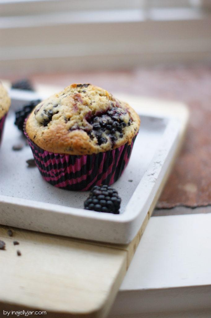 Brombeer-Schoko-Muffins