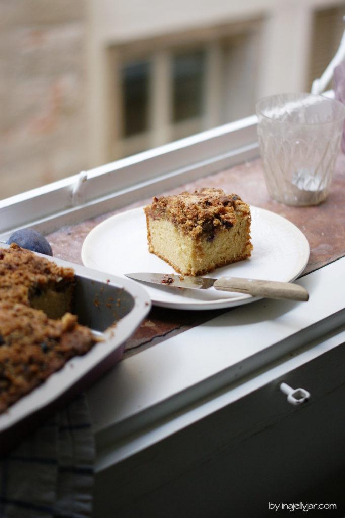 Coffeecake mit Zwetschgen