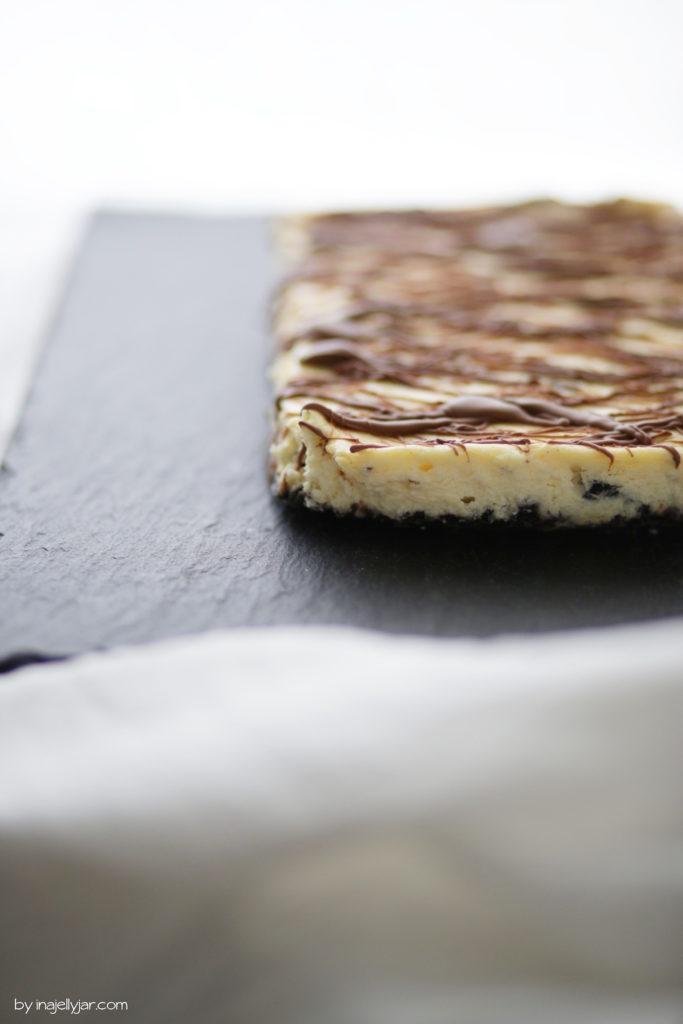 Oreo-Cheesecake aus der Auflaufform