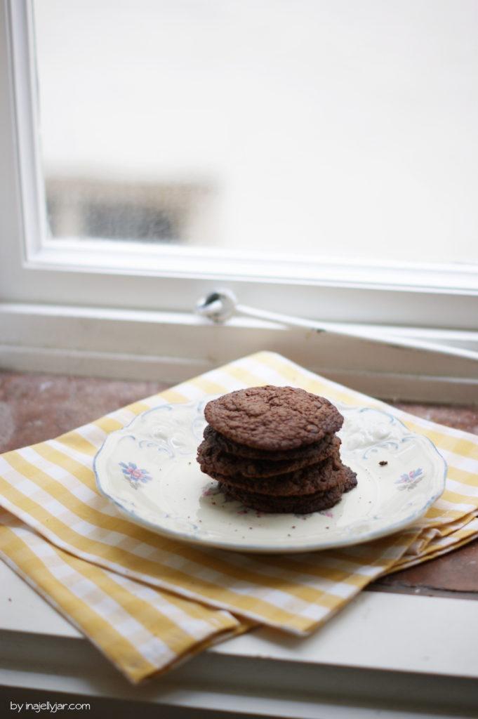 Nutella-Cookies aus nur 4 Zutaten