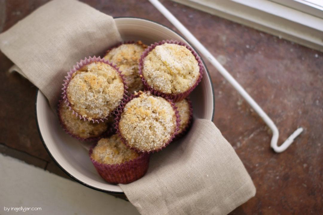 Mango-Kokos-Muffins mit frischer Mango