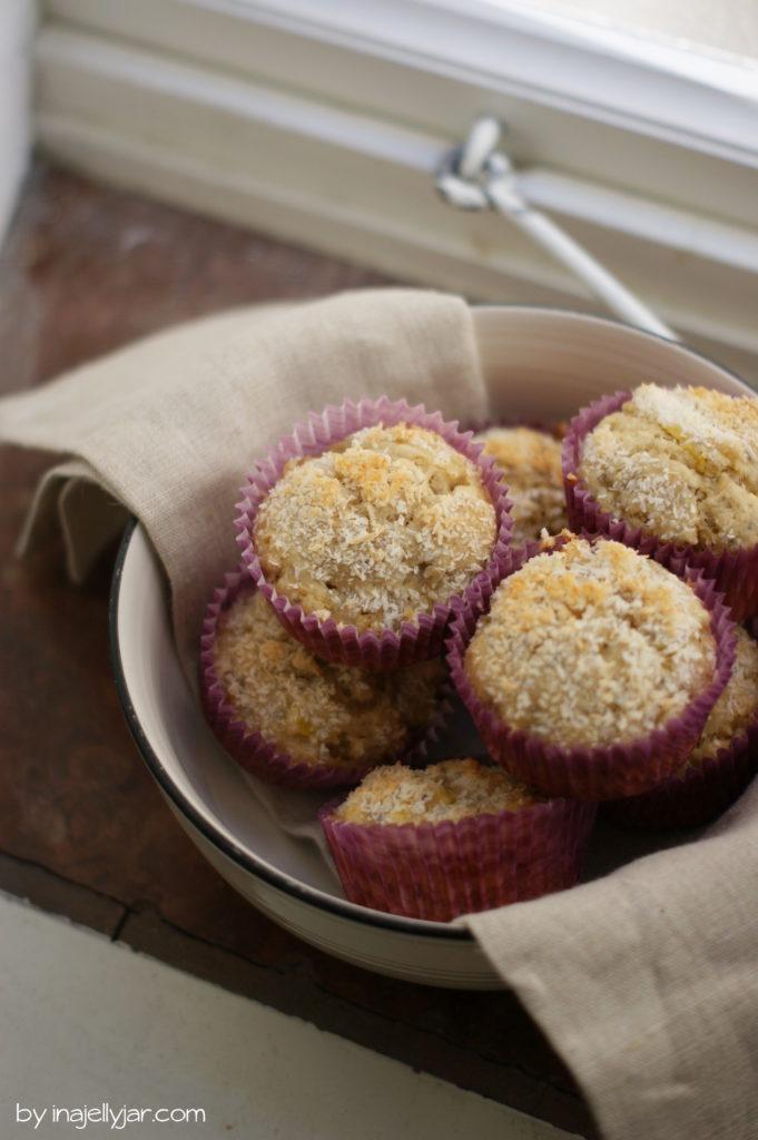 Schnelle Mango-Kokos-Muffins