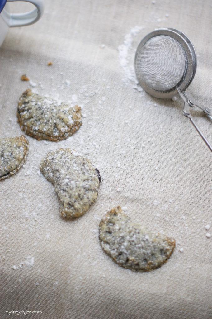 Einfache Powidl-Kekse mit Mohn-Teig
