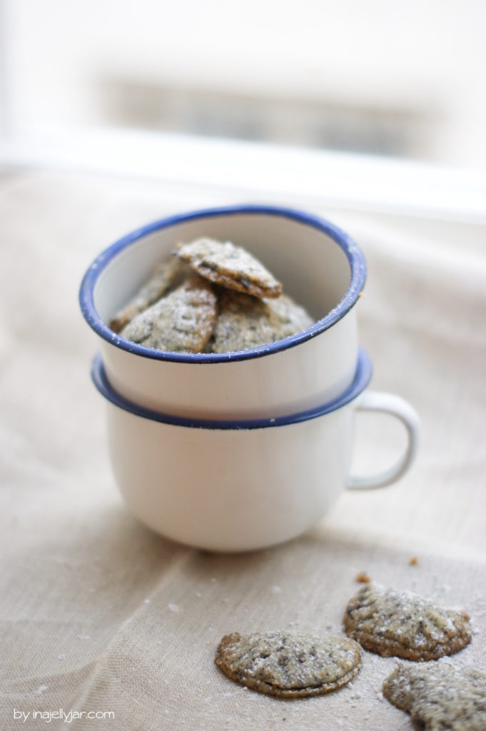 Powidl-Kekse mit Mohn