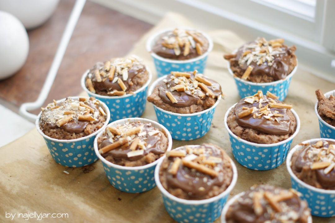 Soletti-Muffins mit Schokotopping