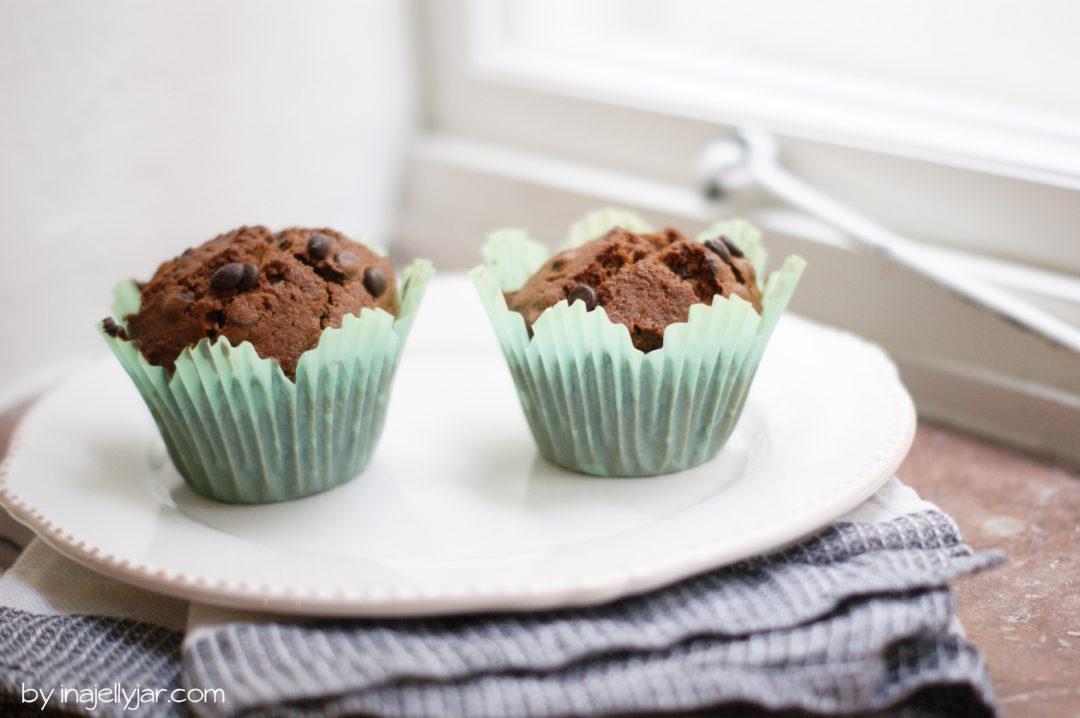 Einfache Schoko-Guinness-Muffins