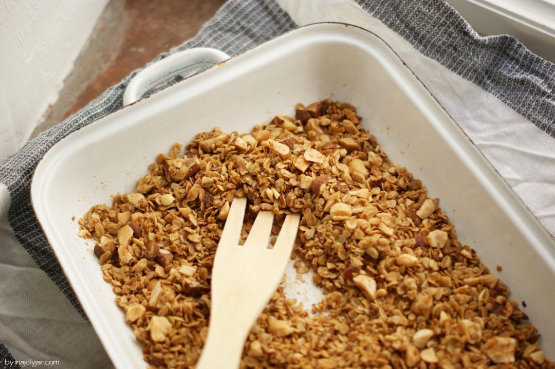 Rezept für Nuss-Granola