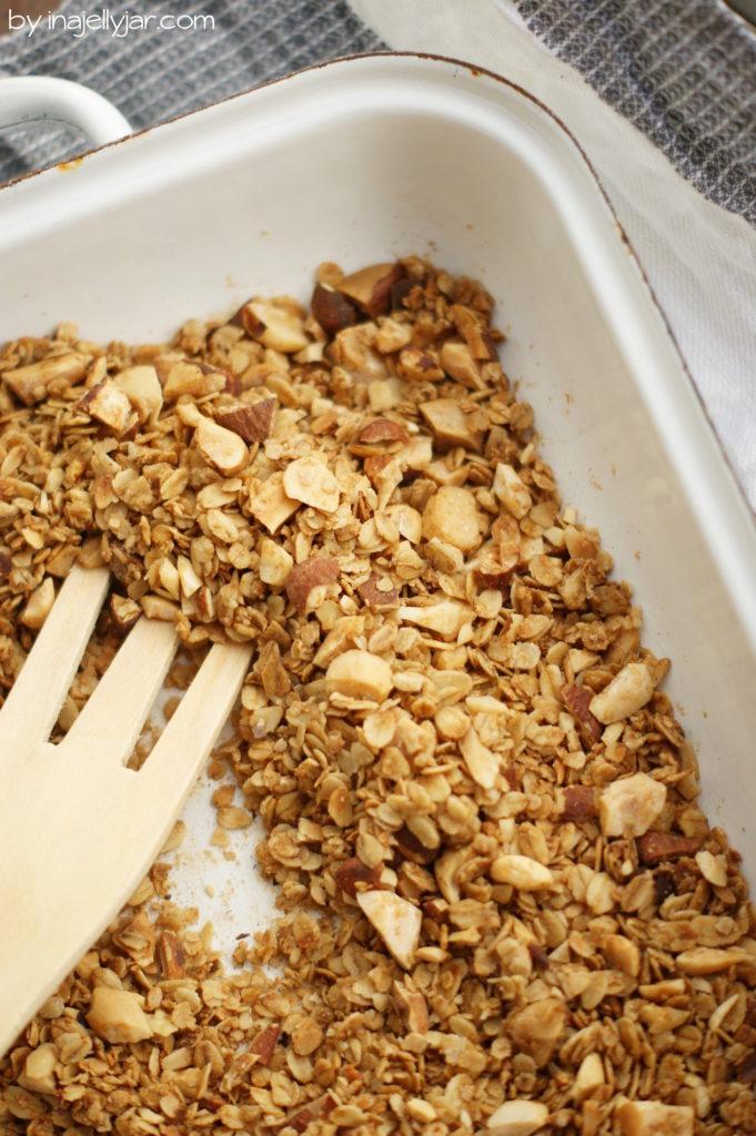 Knusper-Granola vegan