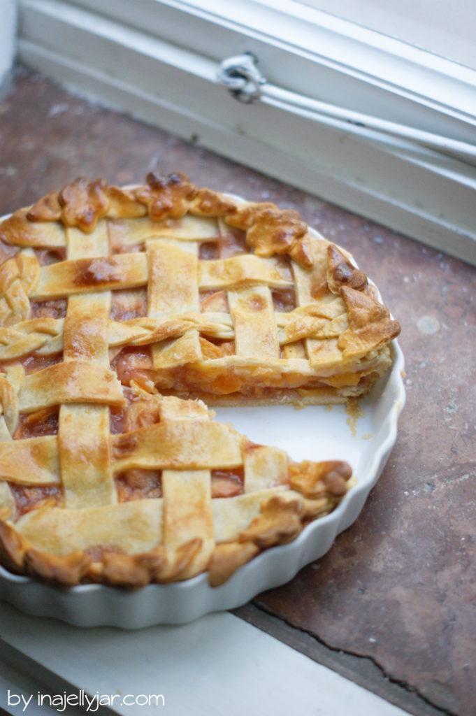 Super saftiger Pfirsich-Pie