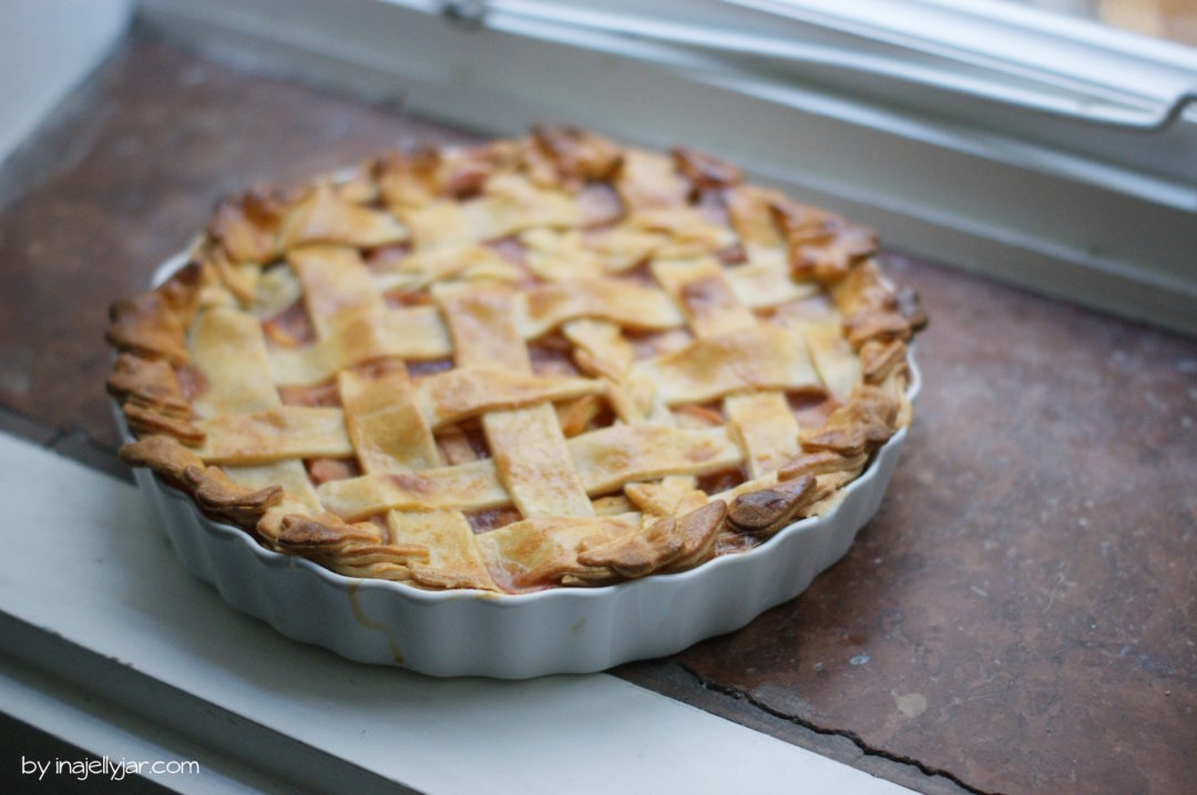 der perfekte Pfirsich-Pie
