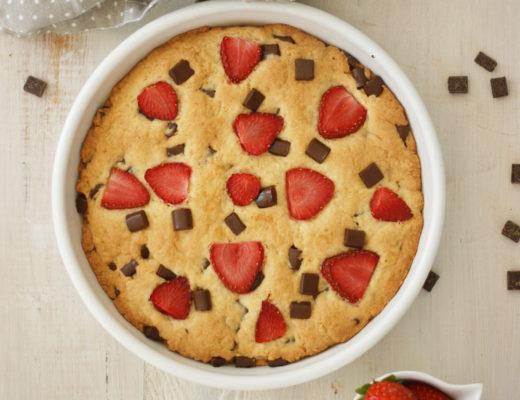 Riesencookie frisch gebacken